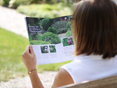 GartenRAUM: Das neue Gartenmagazin von GartenZauner