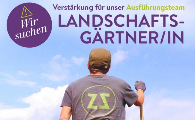 Landschaftsgärtner gesucht, Landschaftsgärtnerin gesucht, Landschaftsbau, Vorarbeiter, Facharbeiter