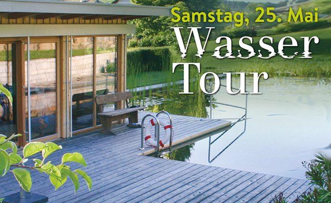 Wasser-Tour, Schwimmteiche und Naturpools, Naturpool, Schwimmteich, Veranstaltung, Gartengestaltung, Oberösterreich, garten Zauner, gartenzauner