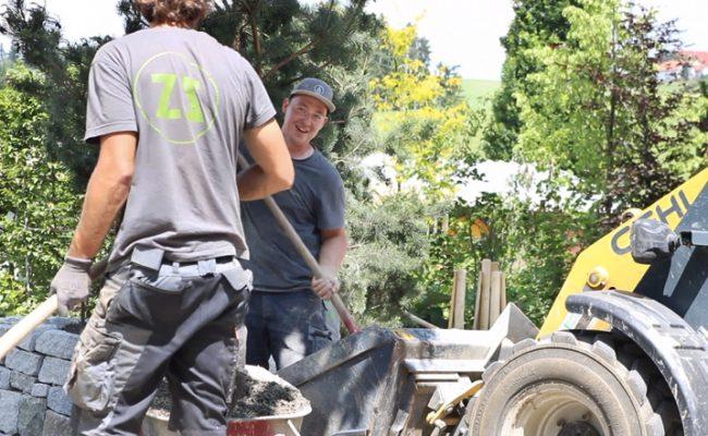 gartenzauner, Gartenarbeit,. Gartenbau, Gartengestaltung, oberösterreich