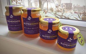 Honig Gartenzauner