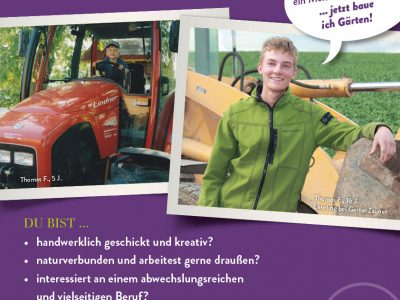 Lehrling Gesucht Landschaftsgärtner Gartenzauner Lehre