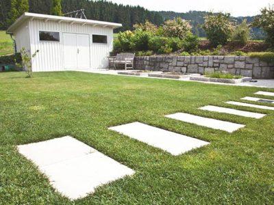 Gartenzauner Stein