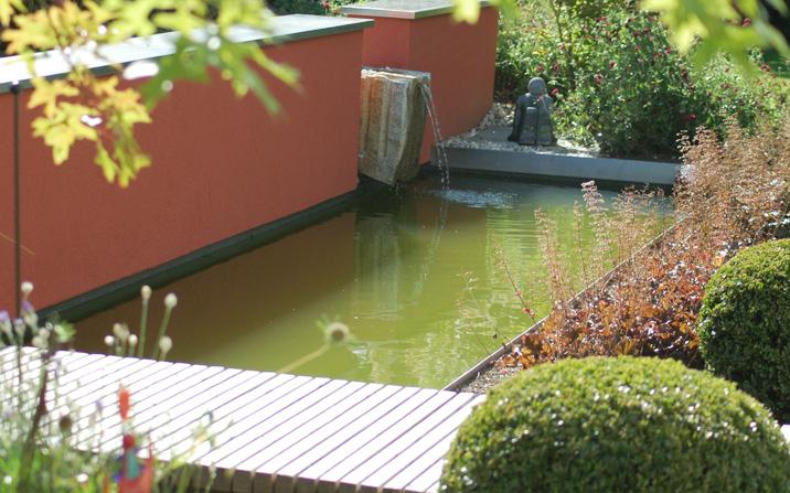 Schwimmteich Naturpool Bio-Pool Gartenzauner Wasser OÖ