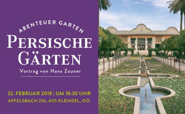 persische Gärten gartenzauner Vortrag