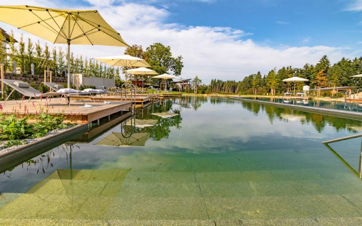 Schwimmbad Gewinner Schwimmteich Bio-Pool Naturpool GartenZauner Bayern OÖ