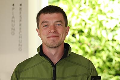 Simon Landertinger Landschaftsgärtner, Vorarbeiter,European Tree Worker Sicherheits- und Gesundheitsbeauftrager bei GartenZauner