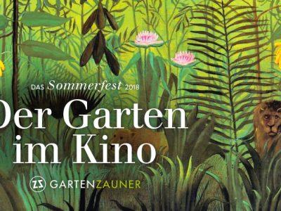 Der garten im Kino, Garten Zauner Sommerfest 2018, Adlerkino, haslach, Event, Gartenveranstaltung, OÖ, Oberösterreich,