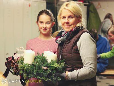 adventkranzbinden, Gartenzauner, advent, Gartengestaltung oö