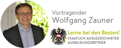 Vortragender, Wolfgang Zauner, GartenZauner
