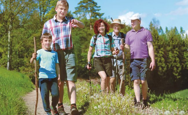 Wandertag, gartenzauner, garten Zauner, Gartengestaltung, Oberösterreich, events, oö, wandern, Sommerfest, in Bewegung