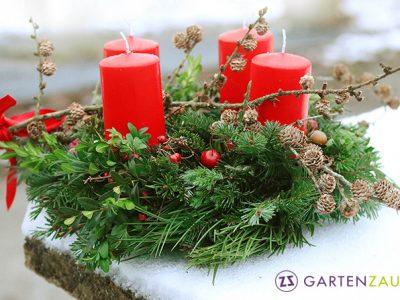 Adventkranzbinden, Adventkranzbinden2019, gartenzauner, advent