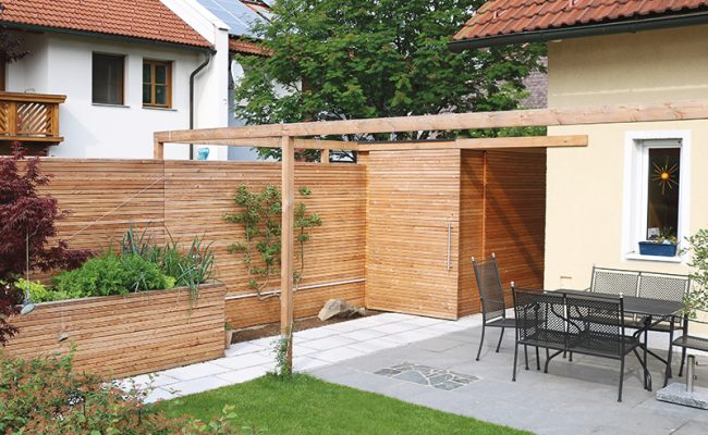 Sichtschutz Planung Gartenraum Magazin GartenZauner