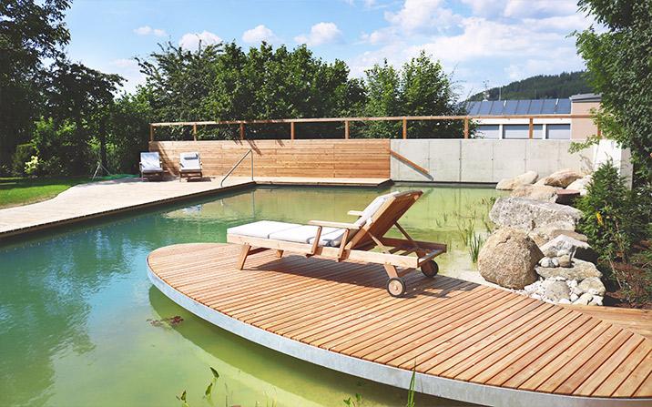 Gartentrends 2020 - Wellnessoase Garten - Schwimmteich und Naturpool