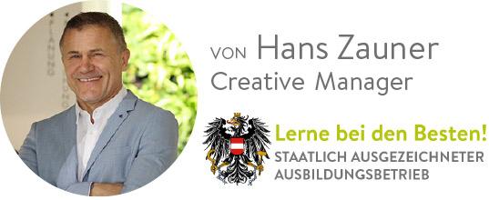 Hans Zauner creative manager