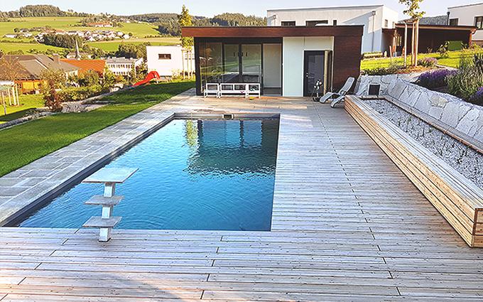 Naturpool und Schwimmteich - Gartentrends 2021