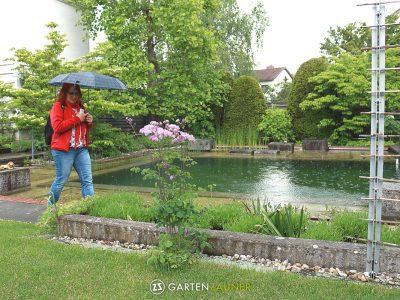 Garten besichtigen