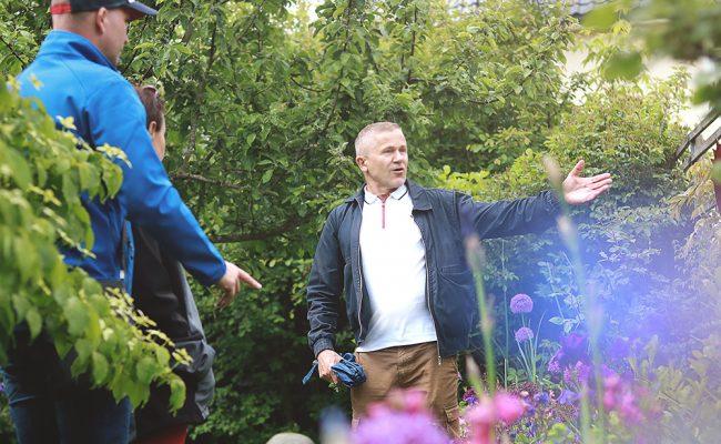 Gartenspaziergang mit Hans Zauner